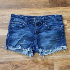 Joe's Jean's The Best Friend Raw Cuff Shorts